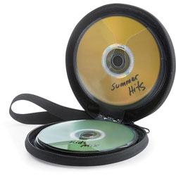 Verbatim Storage Wallet, for CD/DVDs, 24-Disc Capacity, Black
