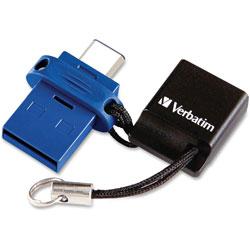 Verbatim 64GB STORENGO DUAL USB FLASH