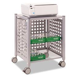 Vertiflex Products Deskside Machine Stand, Two-Shelf, 21.5w x 17.88d x 27h, Matte Gray