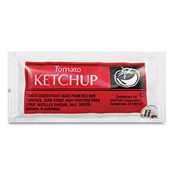 Vistar Condiment Packets, Ketchup, 0.25 oz Packet, 200/Carton