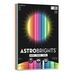 Astrobrights Color Paper -  inSpectrum in Assortment, 24lb, 8.5 x 11, Assorted Spectrum Colors, 200/Pack