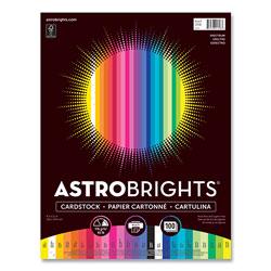Astrobrights Color Cardstock -  inSpectrum in Assortment, 65lb, 8.5 x 11, Assorted Spectrum Colors, 100/Pack