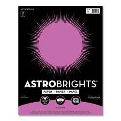 Astrobrights Color Paper, 24 lb, 8.5 x 11, Vivacious Violet, 500/Ream