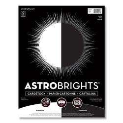Astrobrights Color Cardstock -  inBasic in Assortment, 65 lb, 8.5 x 11, Assorted Basic Colors, 100/Pack