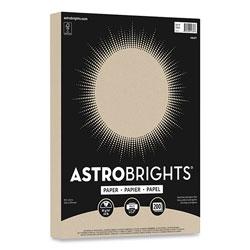 Astrobrights Color Paper, 24 lb, 8.5 x 11, Kraft, 200/Pack