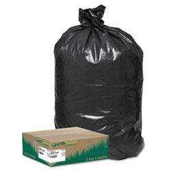 Webster Trash Bags, Hvy Dty, 33Gal, Low Den, 80/CT, Black