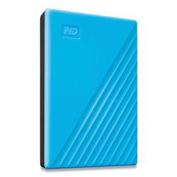 Western Digital MY PASSPORT External Hard Drive, 2 TB, USB 3.2, Sky Blue