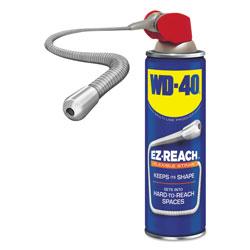 WD-40 Lubricant Spray, 14.4 oz Aerosol Can w/EZ Reach Straw, 6/Carton
