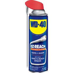WD-40 Lubricant Spray, 14.4 oz Aerosol Can w/EZ Reach Straw