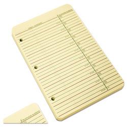 Wilson Jones Looseleaf Phone/Address Book Refill, 5 1/2 x 8 1/2, 80 Sheets