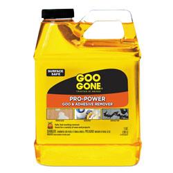 Goo Gone® Pro-Power Cleaner, Citrus Scent, 1 qt Bottle, 6/Carton