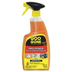 Goo Gone® Pro-Power Cleaner, Citrus Scent, 24 oz Bottle, 4/Carton