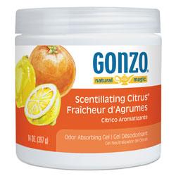 Natural Magic Odor Absorbing Gel, Scentillating Citrus, 14 oz Jar, 12/Carton
