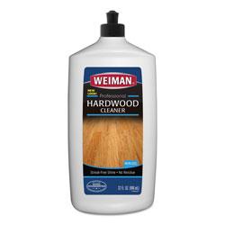 Weiman Products Hardwood Floor Cleaner, 32 oz Squeeze Bottle, 6/Carton
