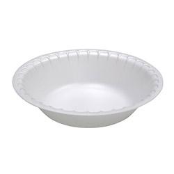 Pactiv Unlaminated Foam Dinnerware, Bowl, 30 oz, 5 in Diameter, White, 450/Carton