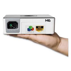 AAXA Technologies M6 LED Pico Projector, 1200 Lumens, 1920 x 1080 Pixels