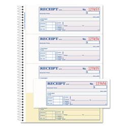 Adam TOPS Money/Rent Receipt Book, 7 1/8 x 2 3/4, 2-Part Carbonless, 200 Sets/Book