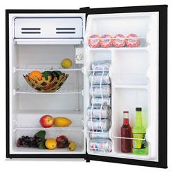 Alera 3.3 Cu. Ft. Refrigerator with Chiller Compartment, Black