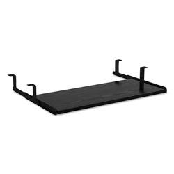 Alera Valencia Series Underdesk Keyboard/Mouse Shelf, 28w x 12d, Black