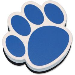 Ashley Magnetic Eraser Paw, Blue/White