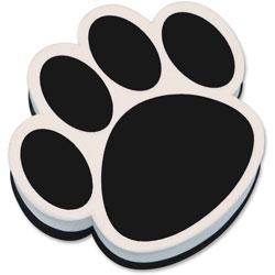 Ashley Magnetic Eraser Paw, Black/White