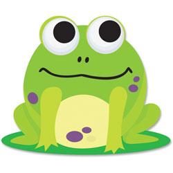 Ashley Frog Magnetic Eraser, Green