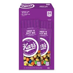 Advantus Nuts Caddy, Sweet 'N Salty Mix, 2 oz Packets, 24/Box