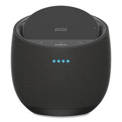 Belkin SoundForm Elite Hi-Fi Smart Speaker plus Wireless Charger, Black