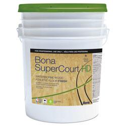 Bona® SuperCourt HD Floor Finish, 5 gal