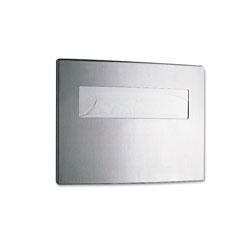 Bobrick Toilet Seat Cover Dispenser, 15 3/4 x 2 1/4 x 11 1/4, Stainless Steel
