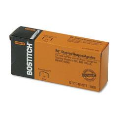 Stanley Bostitch B8 PowerCrown Premium Staples, 0.25 in Leg, 0.5 in Crown, Steel, 5,000/Box