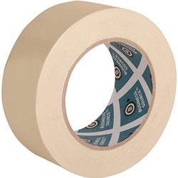 "Business Source Masking Tape, 3"" Core, 2"" x 60 Yards, Tan"