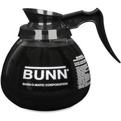 Bunn 12 Cup Standard Decanter, Clear/Black