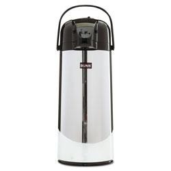 Bunn 2.2 Liter Push Button Airpot, Stainless Steel