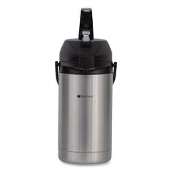 Bunn 3 Liter Lever Action Airpot, Stainless Steel/Black