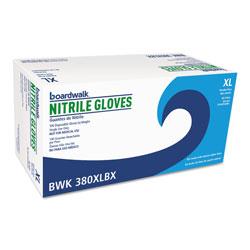 Boardwalk Disposable General-Purpose Nitrile Gloves, X-Large, Blue, 4 mil, 1000/Carton
