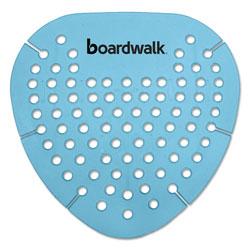 Boardwalk Gem Urinal Screen, Lasts 30 Days, Blue, Cotton Blossom Fragrance, 12/Box