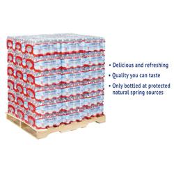 Crystal Geyser Alpine Spring Water, 16.9 oz Bottle, 35/Case, 54 Cases/Pallet