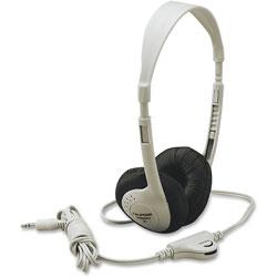 Califone Lightweight Multimedia Headphones, Beige