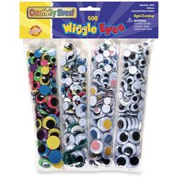 Chenille Kraft Assorted Wiggle Eyes