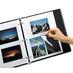 C-Line Redi-Mount Photo-Mounting Sheets, 11 x 9, 50/Box