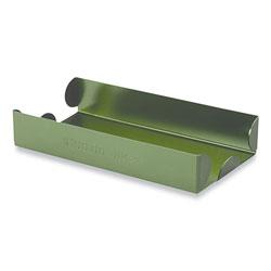 Controltek Metal Coin Tray, Dimes, 3.5 x 10 x 1.75, Green