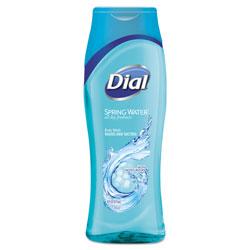 Dial Spring Water Body Wash, 11.75 oz, 6/Carton