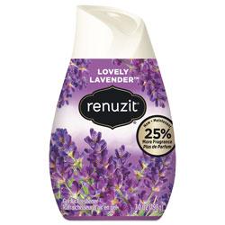 Renuzit® Adjustables Air Freshener, Lovely Lavender, Solid, 7 oz, 12/Carton