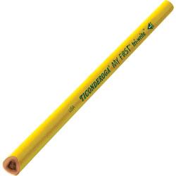 Dixon Ticonderoga #2 Pencil, Triangular Shape, Beginner Without Eraser, 36/BX