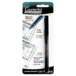 Drimark Smart Money Counterfeit Bill Detector Pen for Use w/U.S. Currency