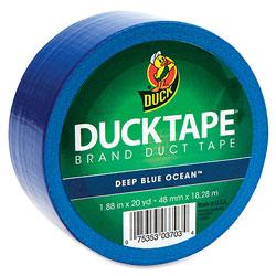 Duck® Duck Tape, 1.88 in x 20 Yards, Blue