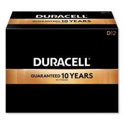 Duracell CopperTop Alkaline D Batteries, 12/Box