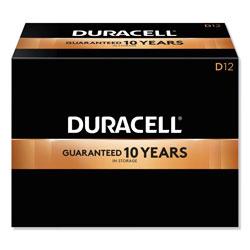 Duracell CopperTop Alkaline D Batteries, 72/Carton