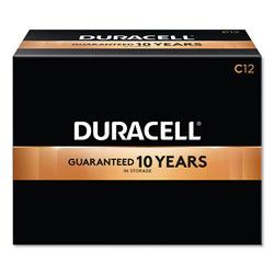 Duracell CopperTop Alkaline C Batteries, 12/Box